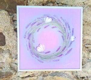 Kurz levandulového relaxačního malování
