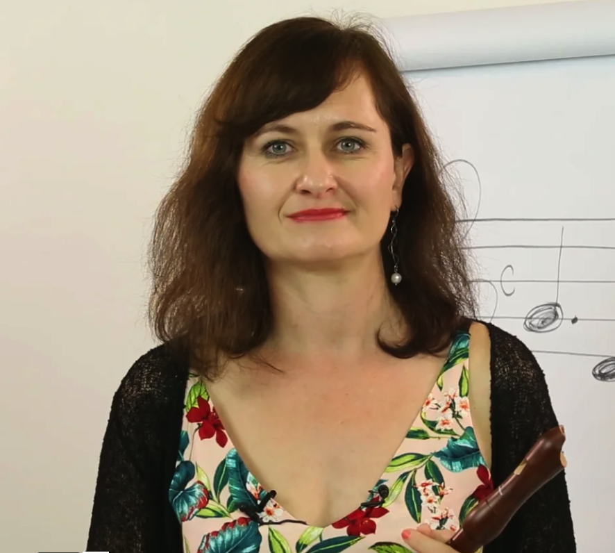 Hudební online kurz hry na zobcovou flétnu