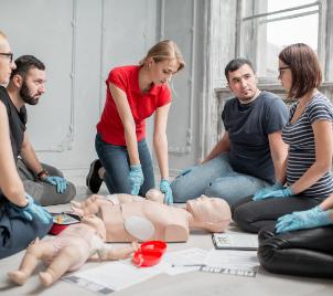 Zážitkový kurz první pomoci v Praze