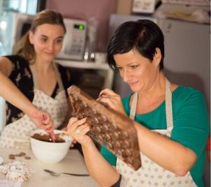 Kurz výroby čokoládových pralinek v Praze