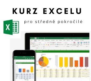 Kurz MS Excel pro středně pokročilé