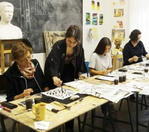 Kurz Tajemství kaligrafie - malba čínskou tuší v Praze
