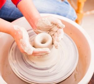 Kurz keramiky Hrnčířský kruh v Praze