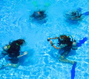 Kurz potápění - zkušební ponor