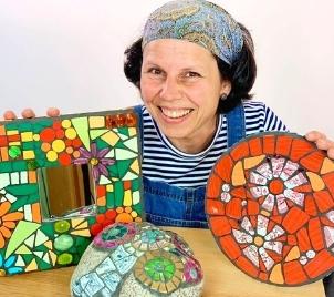 Kreativní kurz Keramická mozaika I.