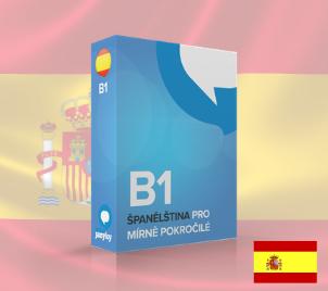 Online kurz Španělštiny pro mírně pokročilé B1