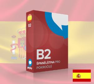 Online kurz Španělštiny pro mírně pokročilé B2