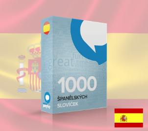 Online kurz Španělštiny - 1000 slovíček