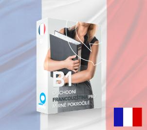 Obchodní francouzština pro mírně pokročilé B1