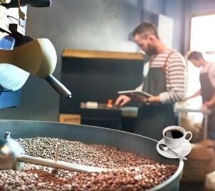Exkurze do světa kávy (prohlídka pražírny + ochutnávka kávy)