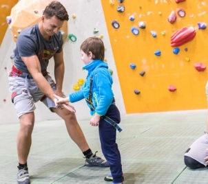 Individuální kurz lezení na stěně pro děti v Praze