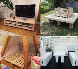 Kurz výroby nábytku z palet v Liberci
