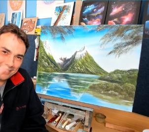 Online workshop malby Malujeme zvučné hory