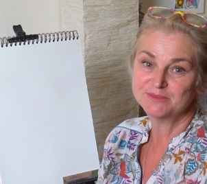 Online workshop kreslení Portrét podle živého modelu