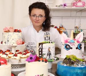 Velký kurz zdobení dortů s mistryní ČR
