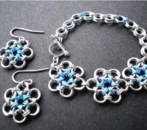 Kurz Chainmaille - výroba šperků z drátků a korálků (kroužkování)