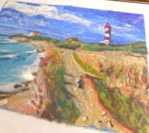 Kurz vytváření plstěných obrázků z vlny