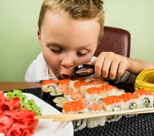 Kurz vaření pro děti - příprava sushi v Praze