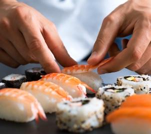 Kurz vaření Příprava sushi v Praze