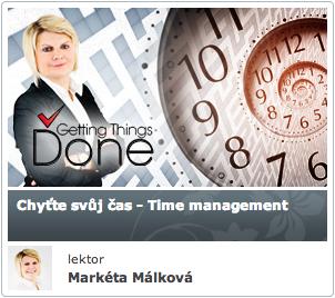 CHYŤTE SVŮJ ČAS - TIME MANAGEMENT