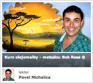 KURZ OLEJOMALBY-METODOU-BOB-ROSS